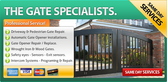 Gate repair Silver Lake CA